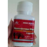 GANODERMA PLUS CAPSULE 100% ORIGINAL GREEN WORLD