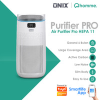 Onix Air Purifier Pro Penyaring Udara With Hepa Filter Up To 50m2