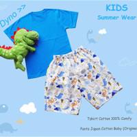 Kids set Summer Wear Dyno celana pendek