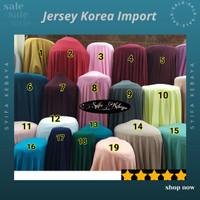 Kain jersey - jersey korea - jersey premium. bahan spandek spandex