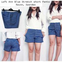 ANN Bluewhite Striped hotpant