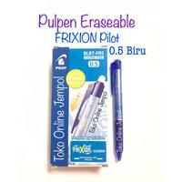 Pulpen Frixion CLICKER 0.5 BIRU Erasable bisa hapus Pilot ATK1098PL