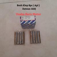 Bosh Bos Klep Valve Guide 8pc Ex / Api Datsun 160J L16