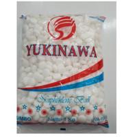 KAMPER PUTIH YUKINAWA 1 KG dan 25 gram -SOSOYO