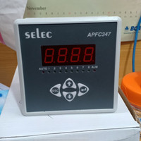 power factor controller 8 steps SELEC APFC347-108 Regulator