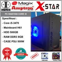 [NEW] i5 3470 / H61 / DDR3 8GB / HD 500GB / CASE PSU 500W