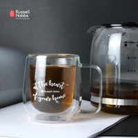 Russell Hobbs Double Wall Glass 250ML