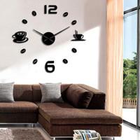 Jam Dinding 3D DIY Wall Clock Dekorasi Interior Hiasan Tembok Rumah