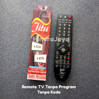 Remote TV Multi JITU Tanpa Kode / Tanpa Program Untuk TV Merk Umum