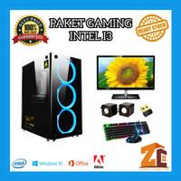 Paket Pc Gaming/Editing Intel Core I3 9100f|GTX1650|8GB|120GB|500GB - 8