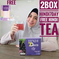 2 Box Hindi 7Days Slimming Tea Pelangsing