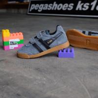 Sepatu Anak Gola Harrier Dark Grey suede gumsole original bnwb size28