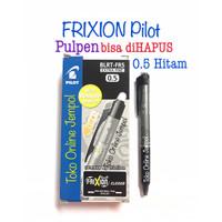 0.5 HITAM Frixion CLICKER Erasable bs hapus Pilot 0,5 Pulpen ATK1097PL