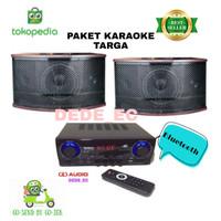 PAKET SPEAKER KARAOKE TARGA/BN303/BONUS MIC KABEL