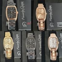 Jam tangan wanita Alexandre Christie AC2456LD ORIGINAL BERGARANSI - HitamRG