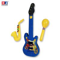 """IMAGE TOYS mainan Classic Guitar Set 21"""" W/Saxophone & Caracas"""