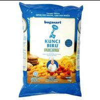 Tepung Terigu Kunci Biru Premium 1kg