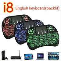 Mini Keyboard (BACKLIT) Wireless i8 2.4G Handheld Keyboard For PC Andr