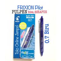 0.7 BIRU Pulpen Frixion CLICKER Erasable bs hapus Pilot pen ATK1100PL