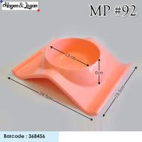 Hagen&Logan - Mp92 Tempat Makan Single Alas Lebar