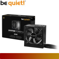 BE QUIET! SYSTEM POWER 9 500W | PSU 500W 80+ Bronze Non Modular