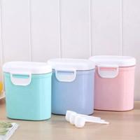 Tempat susu Kotak Penyimpanan SUSU Bubuk Bayi Box tempat bumbu