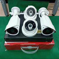 Paket CCTV 4CH 5MP Ultra HD 4K Komplit Tinggal Pasang