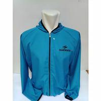 Jaket Sepeda parasut shimano WaterProof - Biru muda - M