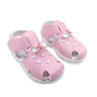 Sepatu Sandal Anak Perempuan Just 4 Junior Basima - Pink
