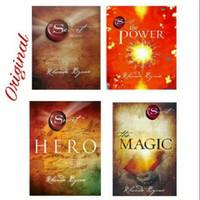 Paket 4 Buku The Secret The Magic The Power & Hero | Rhonda Byrne