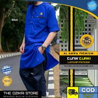 Baju Tunik Turki Gamis Sholat Muslim Pria Original AL AMWA TDA-TU003