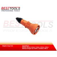 adaptor tang rivet adapter bor paku rivet baja ringan Alangger 3