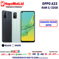 OPPO A33 2020 RAM 3/32GB GARANSI RESMI OPPO INDONESIA