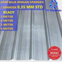 ATAP BAJA RINGAN SPANDEX / SPANDECK / SPANDEK 0,35 MM STD