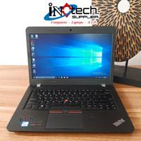 "Laptop Lenovo ThinkPad E460 - 14"" - Core i5 Gen 6 - Second Termurah"