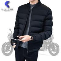 Jaket winter pria tebal untuk musim dingin terbaru murah - XS