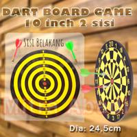 """Dart Board Game / Papan Permainan Panah Ukuran 10"""" / 24.5 cm"""