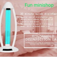 Lampu UV Sterilizer Disinfection UV light 38w Remot Timer