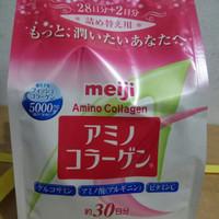 Meiji Amino Collagen Pink Reffil 214g
