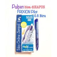 0.5 BIRU Frixion CLICKER Erasable bs hapus Pilot 0,5 Pulpen ATK1098PL