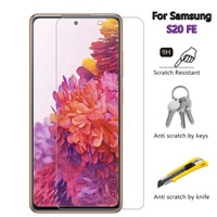 SAMSUNG GALAXY S20 FE TEMPERED GLASS CLEAR ANTI GORES KACA