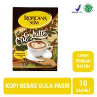 Tropicana Slim Cafe Latte (10 Sachet) - Sugar FREE