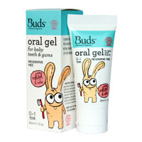 SALE..Buds Oralcare Organics - Oral Gel for Baby Teeth and Gums