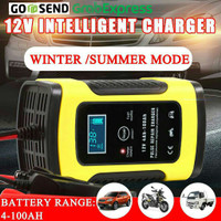 Charger Aki Mobil 12V6A Repair Baterry Automatic Venus Intelegent