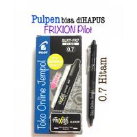 0.7 HITAM Frixion CLICKER Erasable bs hapus Pilot 0,7 pulpen ATK1099PL