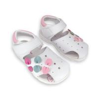 Sepatu Sandal Anak Perempuan Just 4 Junior Badia - White