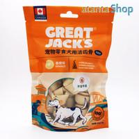 Great Jack's - 150g Orange Knot Bone snack cemilan anjing