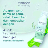 wardah hand gel 100ml