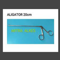 Klem Aligator 20cm. l Alligator 20 cm. IUD Removal Forceps 20cm.