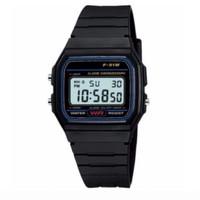 Jam Tangan Pria Wanita / Casio Vintage Black Digital Watch